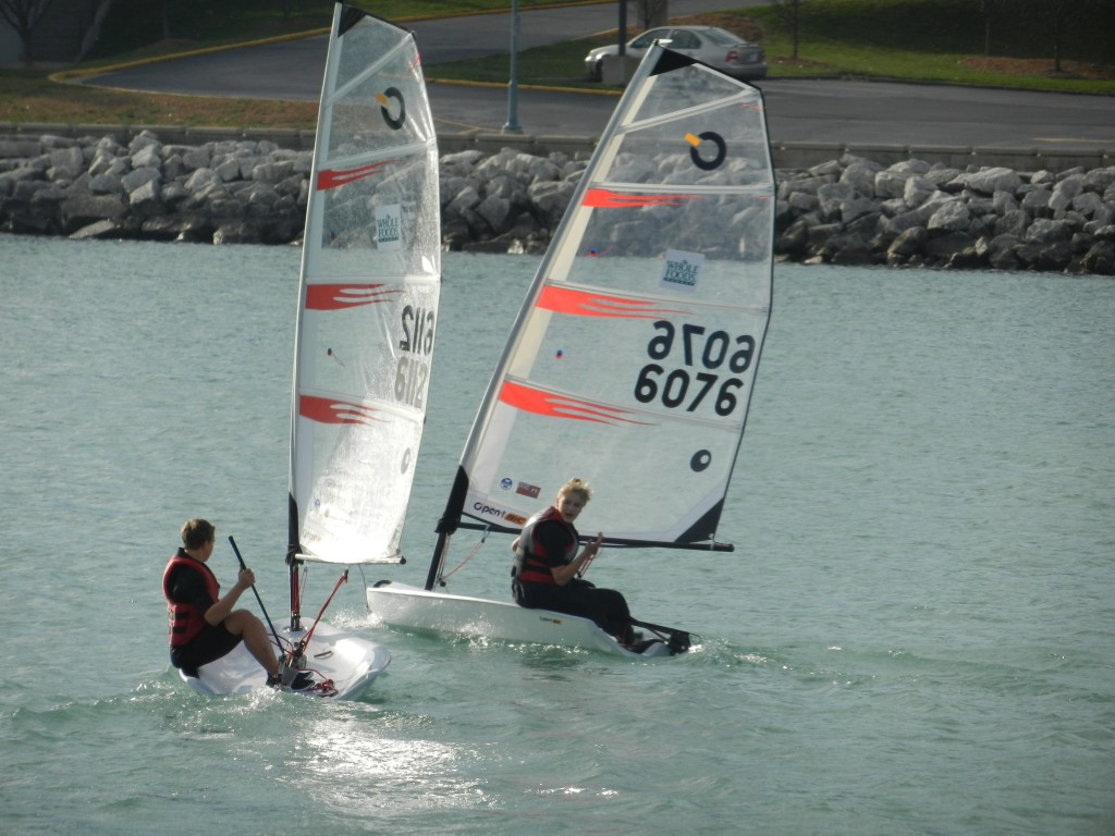 Checkout the New Bic Sailboats